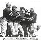 Burt Lancaster, George Barrows, Sonny Chorre, Hubie Kerns, and Al Mejia in Jim Thorpe -- All-American (1951)