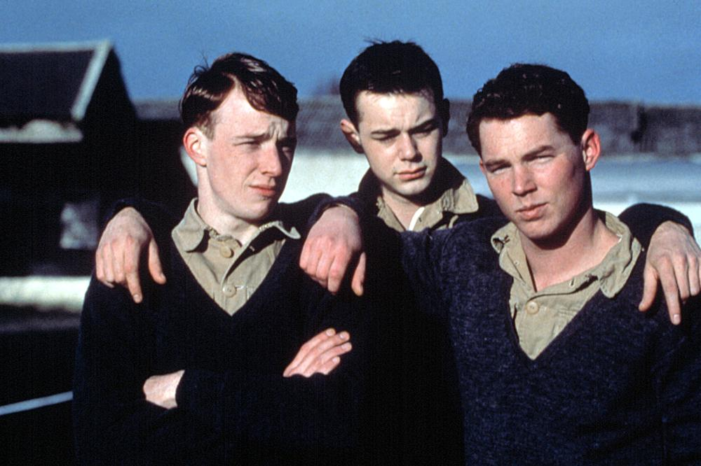 Shawn Hatosy, Danny Dyer, and Robin Laing in Borstal Boy (2000)