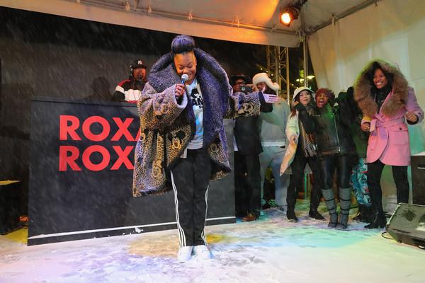 Roxanne Shante performing at Sundance Film Festival 2017