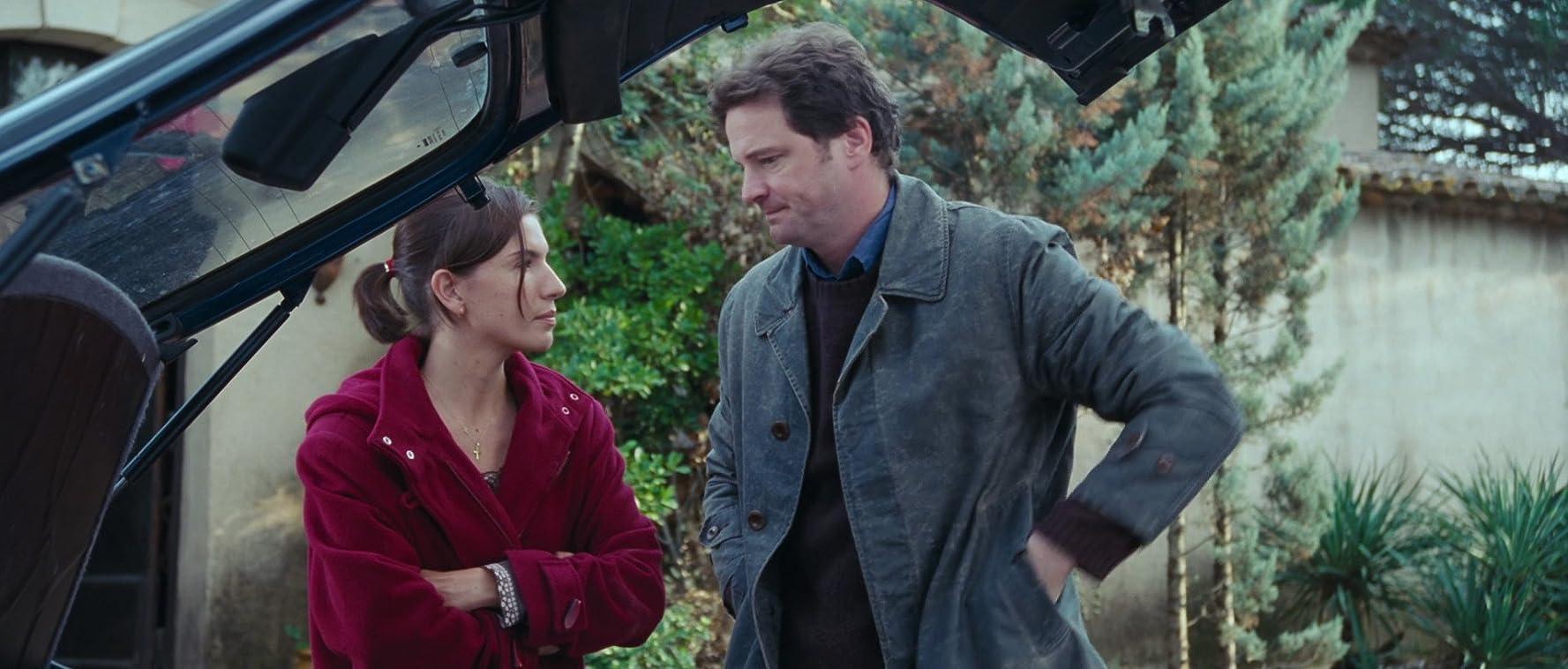 Colin Firth and Lúcia Moniz in Love Actually (2003)