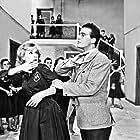 Dimitris Papamichael and Aliki Vougiouklaki in To xylo vgike apo ton Paradeiso (1959)