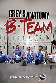Jeanine Mason, Jake Borelli, Rushi Kota, and Alex Blue Davis in Grey's Anatomy: B-Team (2018)