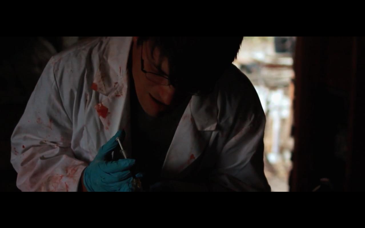 Philip Nathanael in Run Like Hell (2014)
