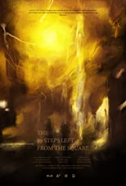 The 99 steps left from the square Poster
