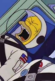 Deep Space Homer Poster