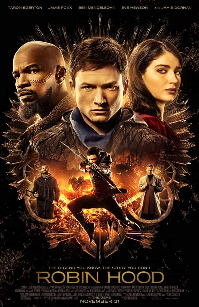 Robin Hood (2018) English 480p HC HDRip x264 AAC ESubs [300MB] Full Hollywood Movie