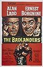 The Badlanders (1958) Poster