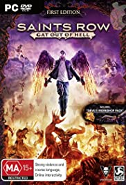 Saints Row: Gat Out of Hell Poster