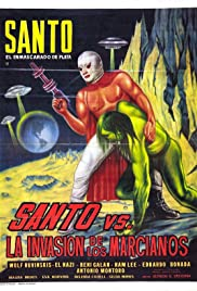 Santo vs. the Martian Invasion Poster