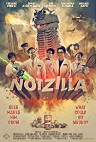 Becca Kravitz, Tim Bensch, Frederic Eng-Li, Tifani Winkfield, Samantha Russell, and Michael Bath in Notzilla (2020)