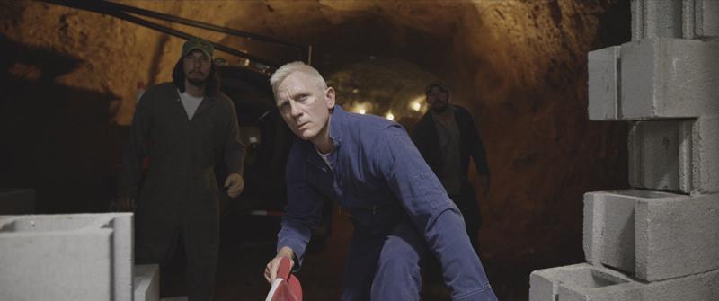 Daniel Craig, Channing Tatum, and Adam Driver in Logan Lucky (2017)