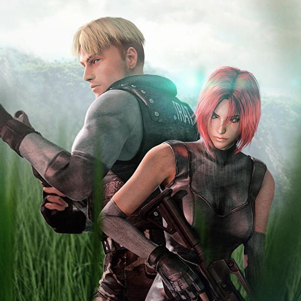 Gabriel Hogan and Stephanie Morgenstern in Dino Crisis 2 (2000)