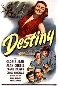 Frank Craven, Alan Curtis, Gloria Jean, and Grace McDonald in Destiny (1944)