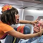 Bai Ling and Daniel Benton in Exorcism at 60,000 Feet (2019)