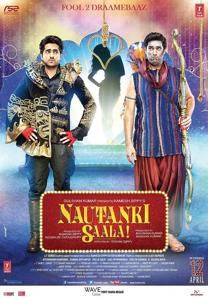 Kunaal Roy Kapur and Ayushmann Khurrana in Nautanki Saala! (2013)