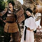 Vittorio Gassman and Stefania Sandrelli in Brancaleone alle Crociate (1970)