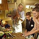 Peter Mygind, Sebastian Kronby, Rumle Riisom, Frida Luna Roswall Mattson, and Mathilde Høgh Kølben in Min søsters børn alene hjemme (2012)