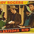 Roy Rogers, George 'Gabby' Hayes, David Kerwin, and Sally March in The Arizona Kid (1939)