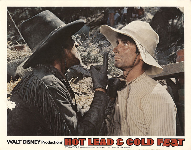 Jim Dale and Warren Vanders in Hot Lead and Cold Feet (1978)