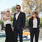 Ben Affleck, Nicole Holofcener, and Jodie Comer at an event for The Last Duel (2021)