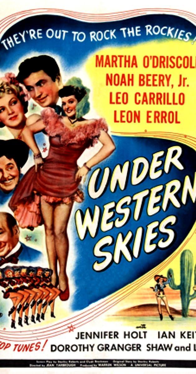 Subtitle of Under Western Skies