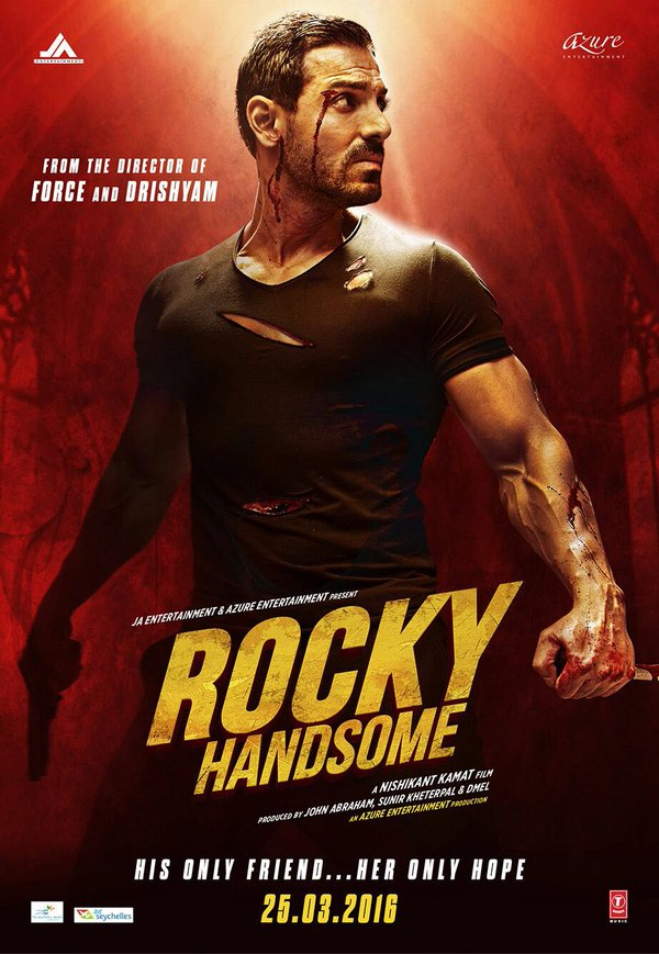Rocky Handsome (2016) Hindi HD-Rip - 480P | 720P - x264 - 350MB | 1GB - Download & Watch Online  Movie Poster - mlsbd