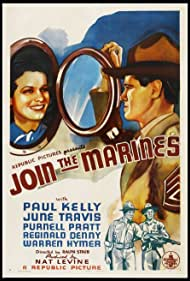 Paul Kelly and June Travis in Join the Marines (1937)