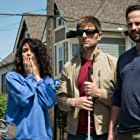 Adam Scott, Nick Kroll, and Jenny Slate in My Blind Brother (2016)