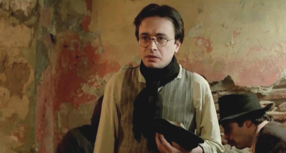 Oscar Martínez in La rosales (1984)