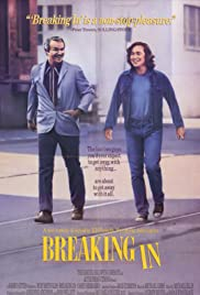 Breaking In (1989) Poster - Movie Forum, Cast, Reviews