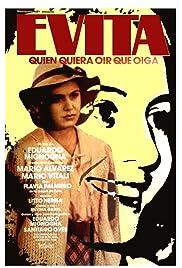 Evita, quien quiera oír que oiga Poster