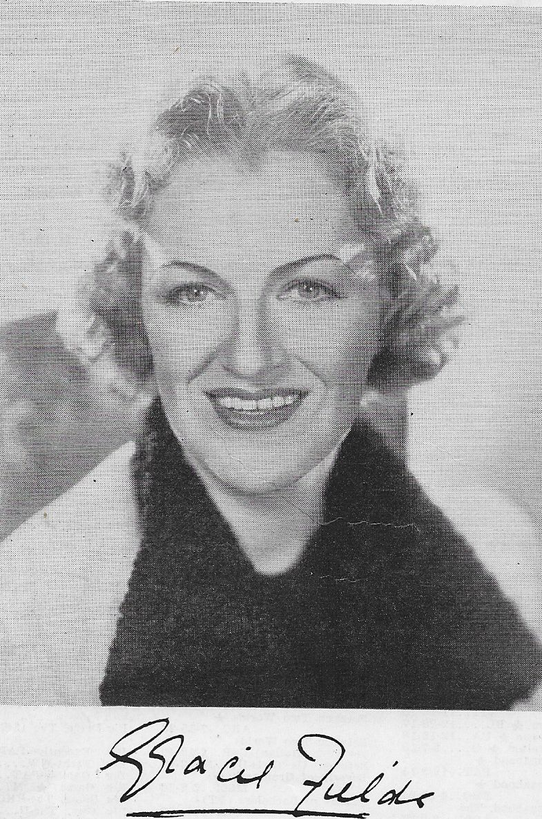 picture Gracie Fields