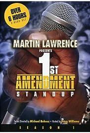 1st Amendment Stand Up Poster