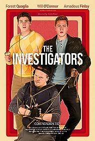 Amadeus Finlay, Will O'Connor, and Forest Quaglia in The Investigators (2021)