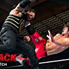 A.J. Styles and Joe Anoa'i in WWE Payback (2016)