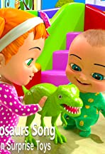 Types of Dinosaurs Song by Billion surprise toys