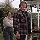 Erik Thomson and Natalie Abbott in Aftertaste (2021)