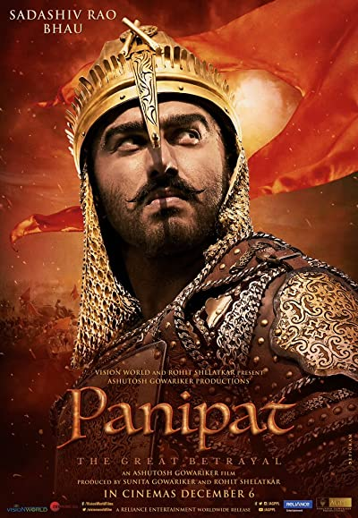 Panipat 2019 Full Hindi Movie Download 400MB 480p HDRip
