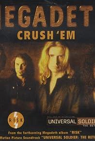 Primary photo for Megadeth: Crush 'Em