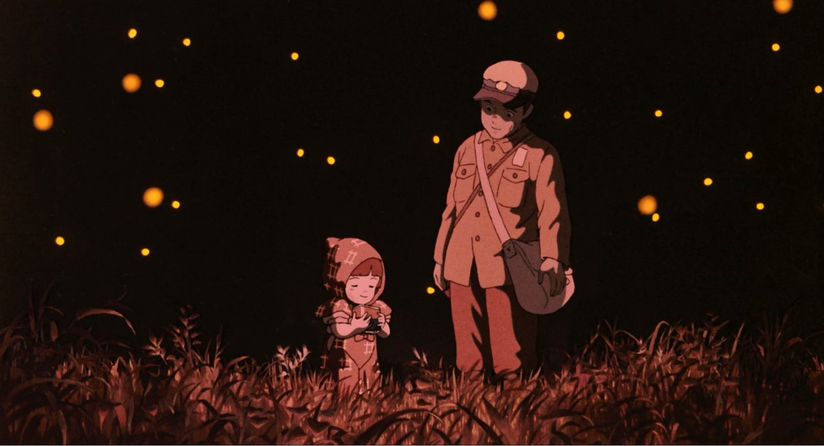 Image result for Grave of the Fireflies' (1988)