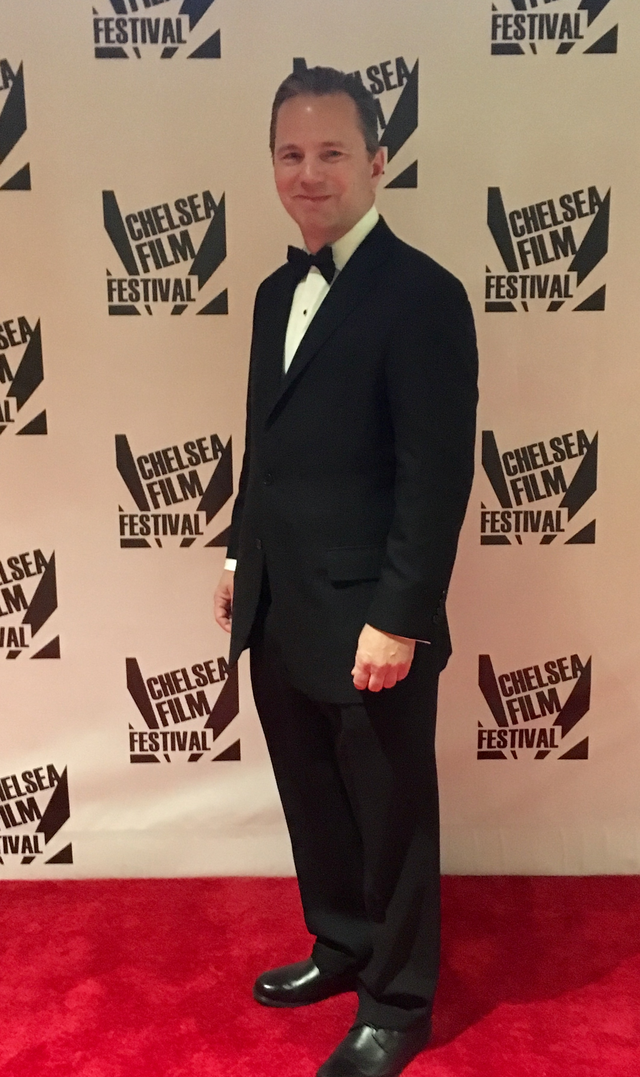 Director Brock Mullins in New York City at the 2018 Chelsea Film Festival in October with his feature film Return to Seattle.