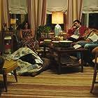 Polly Draper, Nick Sandow, Nat Wolff, and Alex Wolff in Stella's Last Weekend (2018)