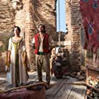 Naomi Scott and Mena Massoud in Aladdin (2019)