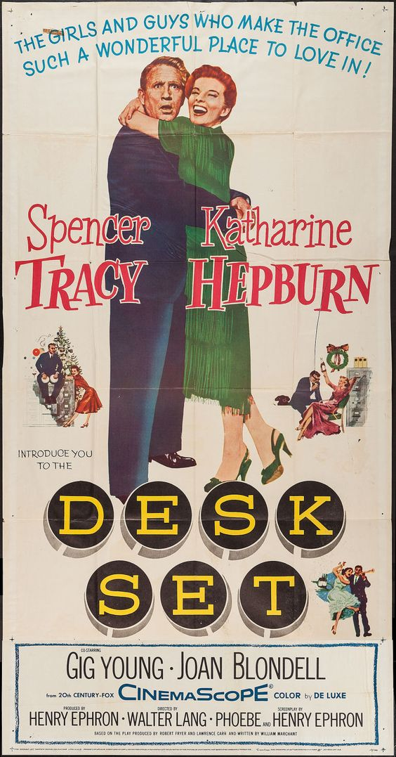 Desk Set (1957) - Photo Gallery - IMDb