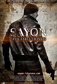 SAYÓN: The Executioner Poster