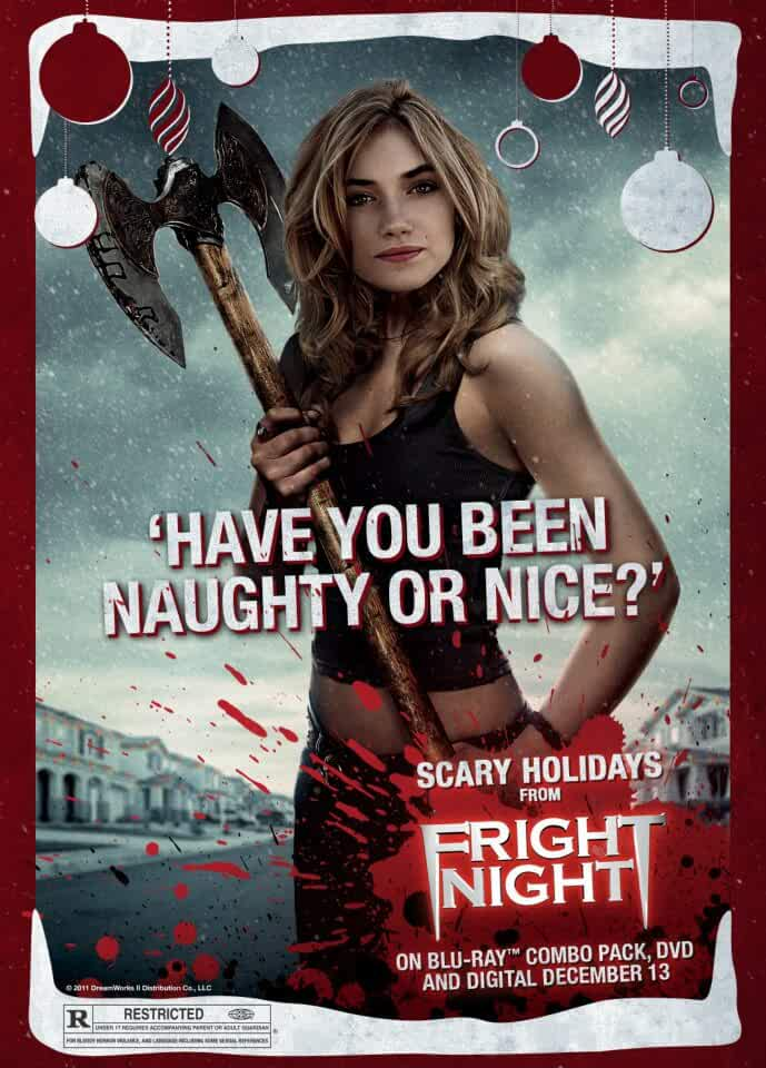 18+ Fright Night (2011) 720p BDRip –  Original Audios [Hindi + Eng] 800MB – ESub –