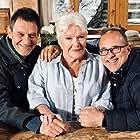 Patrick Catalifo, Line Renaud, and Emmanuel Rigaut in Meurtres à... (2013)