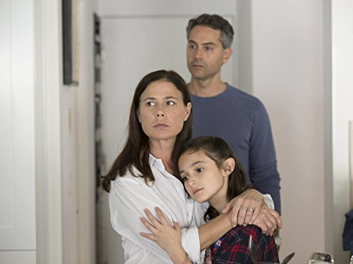 Maura Tierney, Omar Metwally, and Leya Catlett in The Affair (2014)