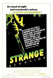 Strange Behavior Poster