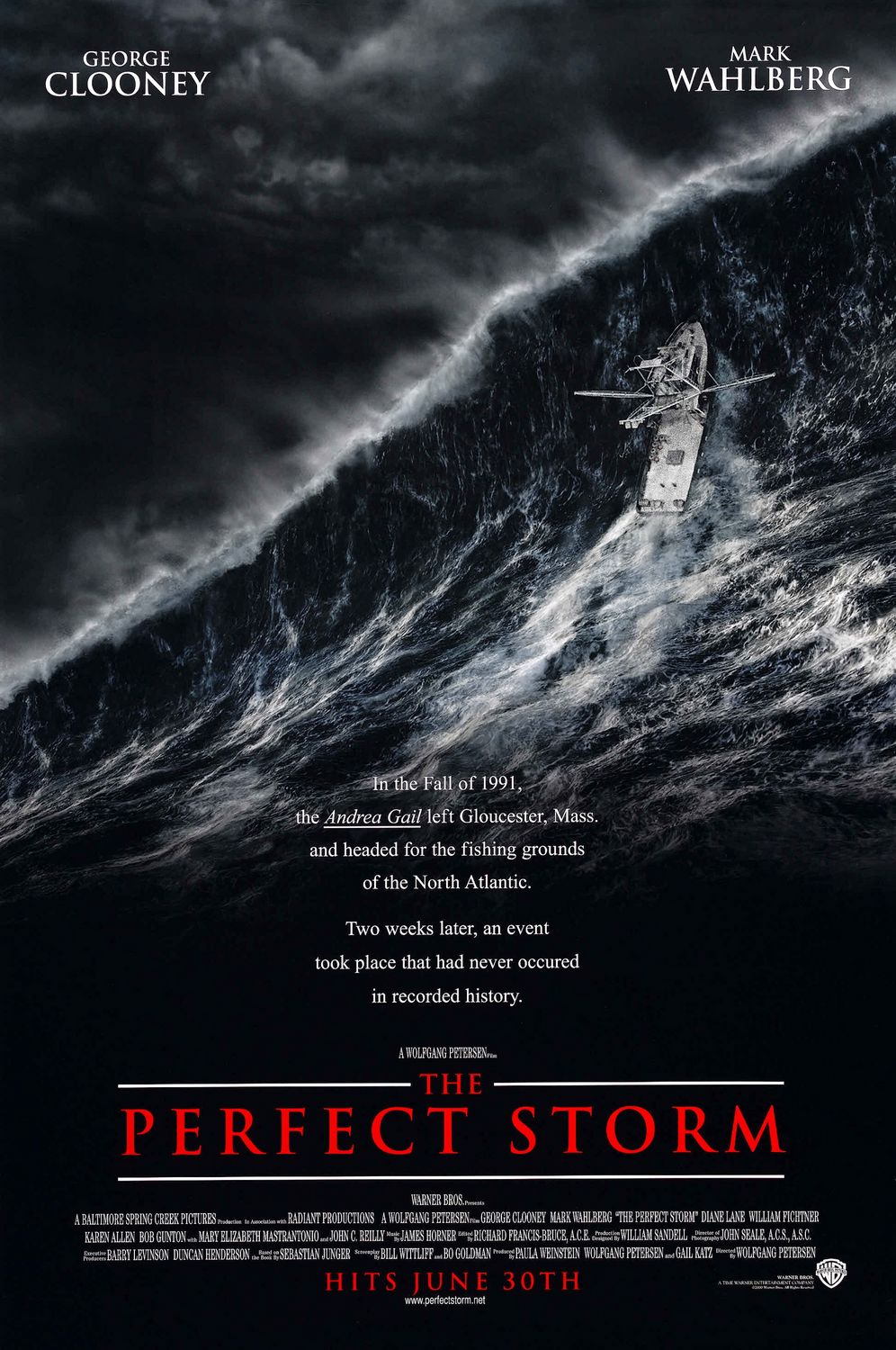 The Perfect Storm (2000) BluRay 480p, 720p & 1080p